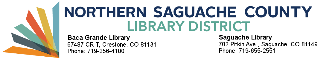 Northern Saguache County Library District